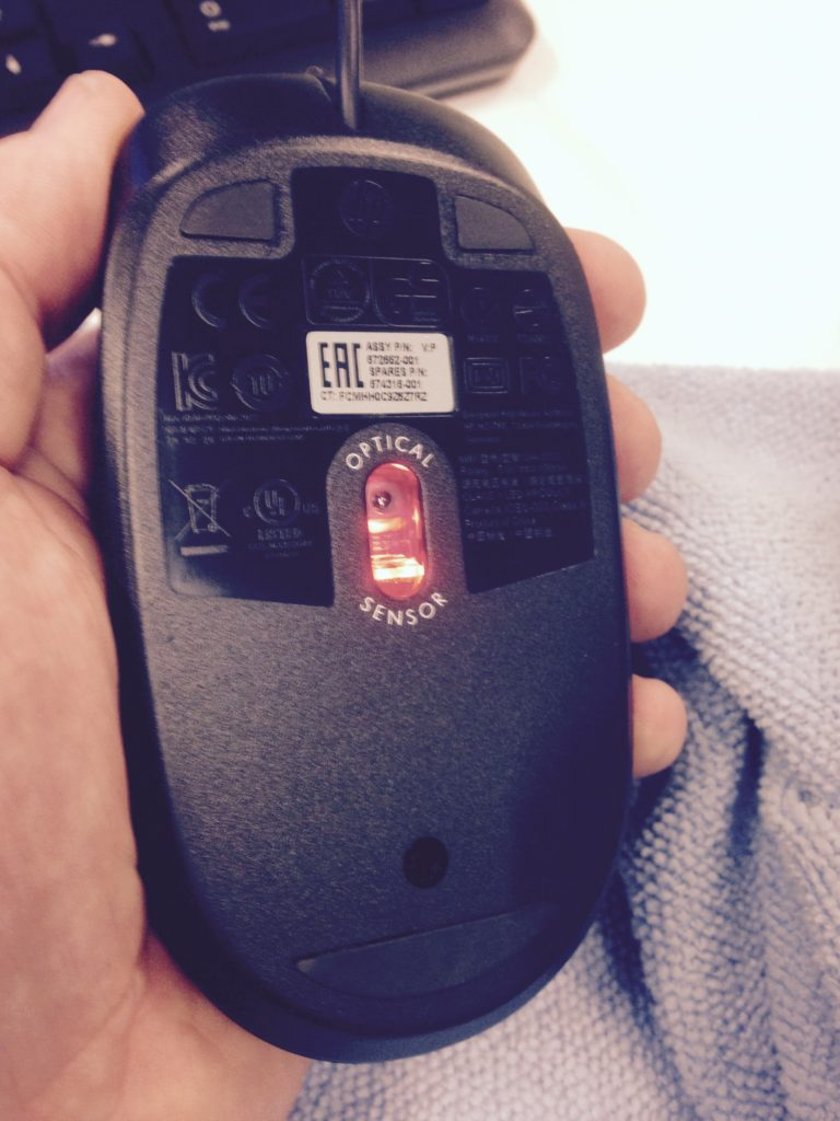 Clean Computer Mouse After Computer Cleaning Service