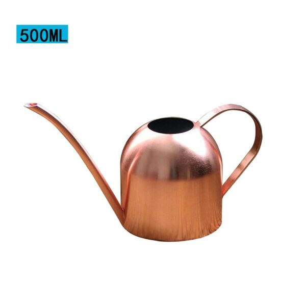 Long Mouth Water Can Stainless Steel Watering Pot Garden Flower Plants Watering Cans 500ML /1000ML Kettle Gardening Tool 24