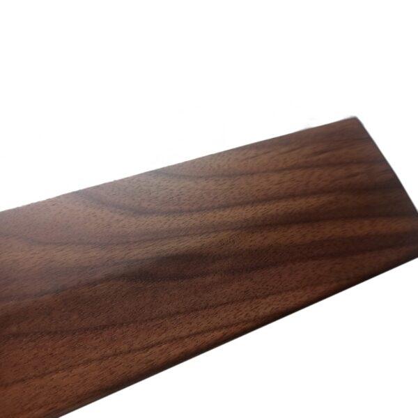 Walnut Wooden Mechanical Keyboard Wrist Rest with Anti-Slip Mat Ergonomic Gaming Desk Wrist Pad Support 61 87 104 Keys 3