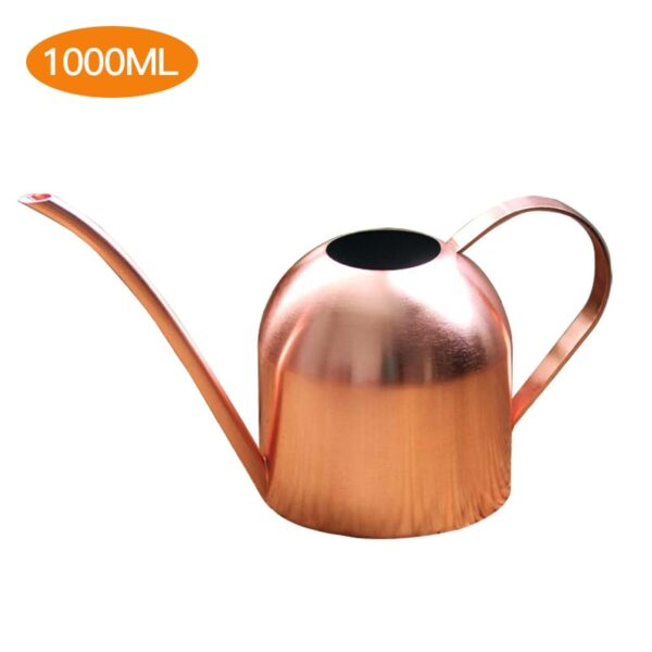 Long Mouth Water Can Stainless Steel Watering Pot Garden Flower Plants Watering Cans 500ML /1000ML Kettle Gardening Tool 25