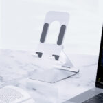 ORICO Mobile Phone Holder For iPhone iPad Adjustable Aluminum Alloy Tablet Stand Portable Foldable Mobile Phone Stand Desk