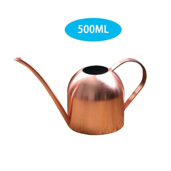 Long Mouth Water Can Stainless Steel Watering Pot Garden Flower Plants Watering Cans 500ML /1000ML Kettle Gardening Tool 11