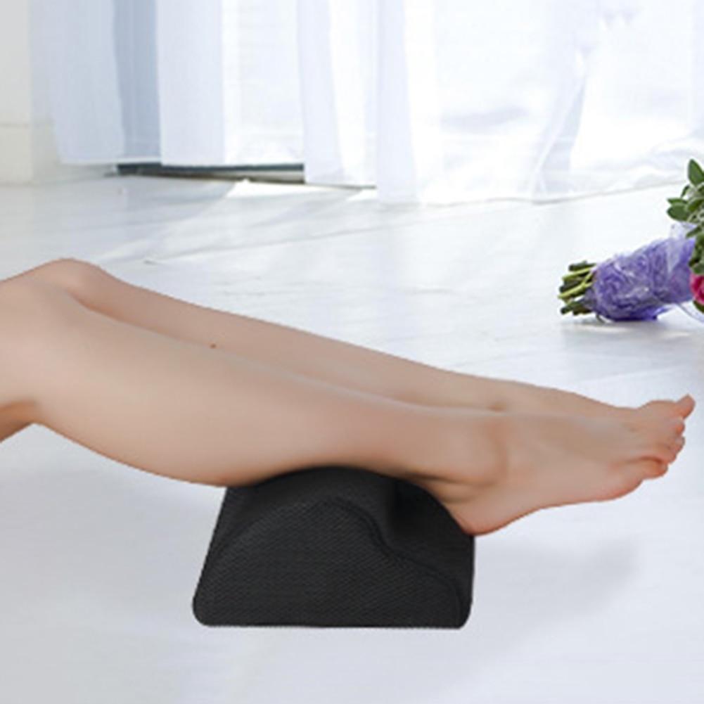 Soft Feet Pillow Relaxing Cushion Support Foot Rest Under Desk Work Chair Feet Stool For Home Work Travel Footrest Massage Mats 3