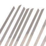 100pcs/set 4.6x300mm Stainless Steel Exhaust Wrap Coated Locking Metal Cable Zip Ties Induction Pipe Header New 6