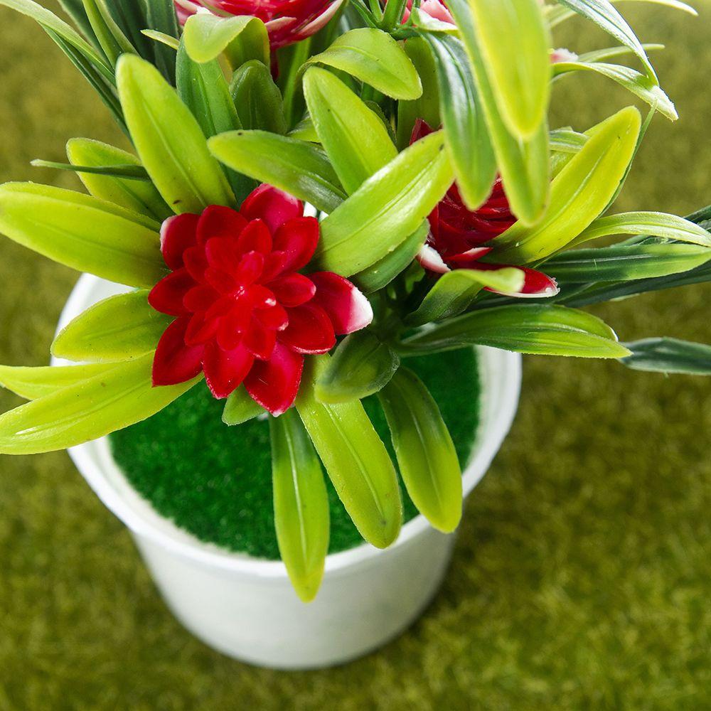 Artificial Plants Bonsai Small Tree Pot Plants Bonsai Lotus Flowers Fake Flowers Potted Ornaments Home Decoration Garden Decor 5