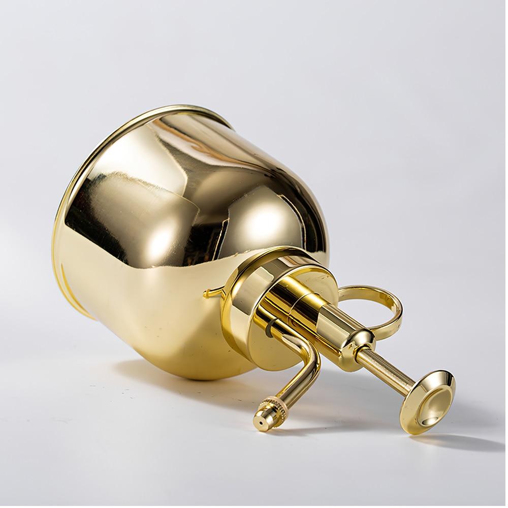 300ml Watering Can Nordic Style Pressing Nozzle  Garden Sprayer Pot Succulent Plants Flower Brass Watering Pot 4